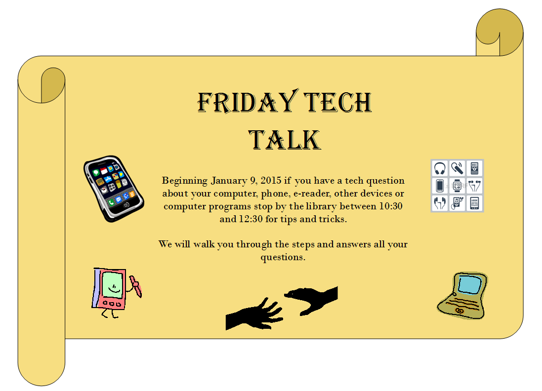 Friday Tech Talk-website