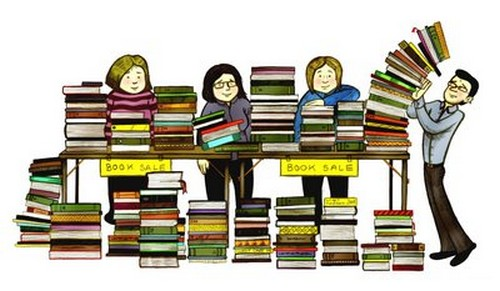 Image result for friends of the library book sale